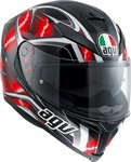 AGV K-5 S Multi - Hurricane Black/Red/White