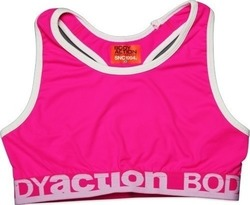 Body Action Sports Bra 041509-pink