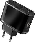 Celly 2x USB Wall Adapter Μαύρο (13007725)