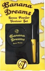 W7 Cosmetics Banana Dreams Loose Powder Contour Set