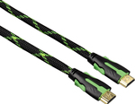 HAMA Braided Cable HDMI male - HDMI male 2m (51777)