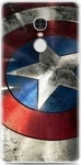 OEM Back Cover Σιλικόνης Captain America (Xiaomi Redmi Note 4)