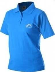 More Mile Short Sleeve Ladies Polo Shirt MMSSPOLOWBLU