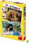 Cats & Dogs 2x48pcs (381438) Dino