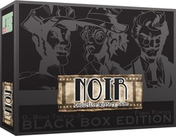 Level 99 Games Noir: Deductive Mystery Game ( Black Box Edition )