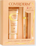 Coverderm Gift Set Perfect Face Make Up No 9 SPF20 30ml & Perfect Lashes Mascara 10ml