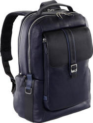 Nava Courier Leather Backpack 15.6""