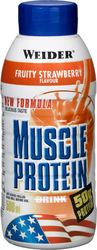 Weider Muscle Protein Drink 6 x 500ml Φράουλα