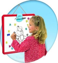 Smoby Activity Double Side Slate Display Red