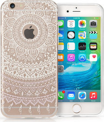 YouSave Accessories Back Cover Mandala Λευκό (iPhone 7)