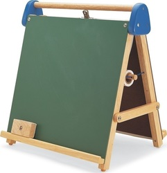 Pin Toys Tabletop Magnetic Easel And Chalkboard