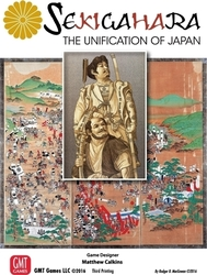 GMT Games Sekigahara: The Unification of Japan