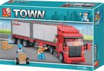 Sluban Town: Container Transporter 345τμχ