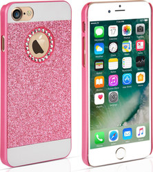 YouSave Accessories Back Cover Σιλικόνης Flash Diamond Ροζ (iPhone 7)