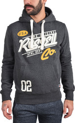 Russell Athletic Pull Over Hoody With Hi Defini A6-053-2-098