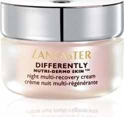 Lancaster Differently Nutri-dermo Skin Night Multi Recovery Cream 50ml