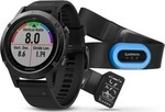 Garmin Fenix 5 Performer Bundle (Black Sapphire with Black Band)