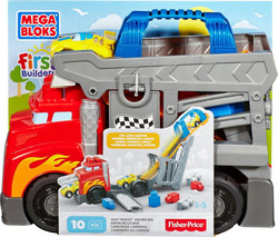 Mega Bloks First Builders: Fast Tracks Racing Rig 10τμχ