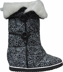 WOMENS SNOW BOOTS BLACK (M00402)