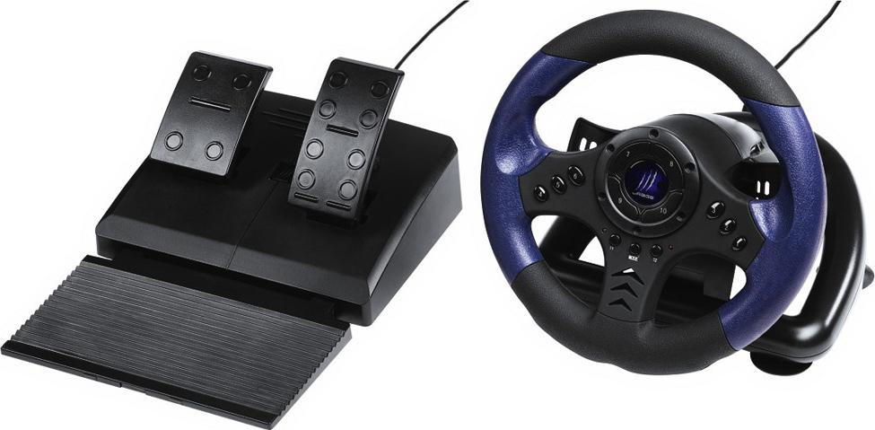 hama racing wheel urage gripz pc. Black Bedroom Furniture Sets. Home Design Ideas
