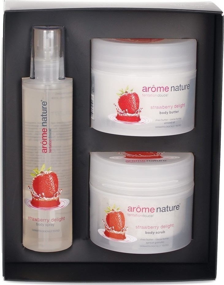Προσθήκη στα αγαπημένα menu Azade Arome Nature Gift Set Strawberry Trio cfa7b8bc779