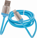 OEM Regular USB to Lightning Cable Τιρκουάζ 1.5m