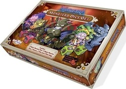 Cool Mini Or Not Masmorra: Dungeons of Arcadia - Monsters Dice Set