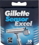 Gillette Sensor Excel Replacement Blades (10 τε...