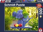 Watering Can with Hydrangea 500pcs (58283) Schmidt