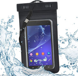 c7981f26c9 Large Waterproof Beach Bag Protective Pouch Case Cover for  iPhone iPod Phones