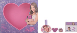 Disney Violetta Eau De toilette 30ml & Pendant & Sticker
