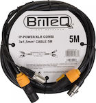 BRITEQ IP-POWER/XRL COMBICABLE 5M EANCODE: 5420025613637