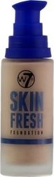 W7 Cosmetics Skin Fresh Foundation Cameo Beige 30ml
