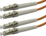 OEM Optical Fiber LC-LC Cable 2m Πορτοκαλί (04.023.0161)