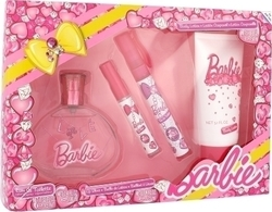 Air-Val Barbie Eau de Toilette 100ml & Eau de Toilette 9,5ml & Lip Gloss 2,5ml