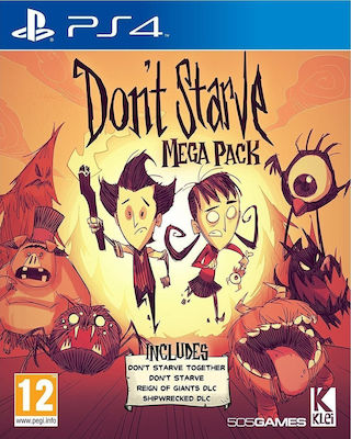Don't Starve Mega Pack PS4