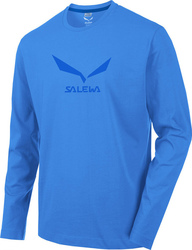 Salewa Solid Logo 2 Co LS Tee 25786-3420