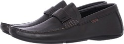 Lido Black Leather