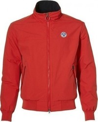 NORTH SAILS JACKET BOMBER 302270 RED ΚΟΚΚΙΝΟ