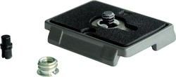 Manfrotto Quick Release Plate with 1/4'' Screw and Rubber Grip 200PL Πλακάκι Κεφαλής