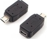 De Tech micro USB male - mini USB female (B17135)