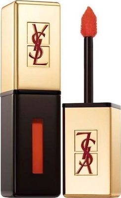 Ysl Rouge Pur Couture Glossy Stain 8 Orange De Chine