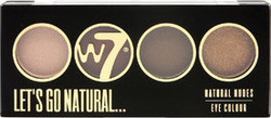 W7 Cosmetics Natural Nudes Eye Colour Let's Go Natural