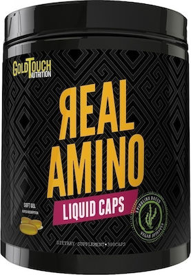 GoldTouch Nutrition Real Amino Liquid 300 μαλακές κάψουλες