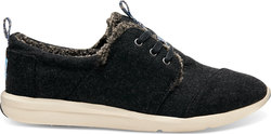 Toms Del Rey 10008892 Charcoal Wool