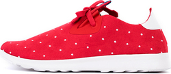 Native Shoes Apollo Moc 211024068197 Torch Red Polka Dot