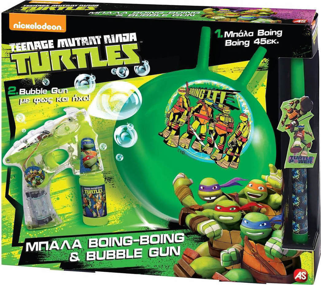 Λαμπάδα Boing   Bubble Gun Turtles 1500-15583 As Company 9a48a8f58d9