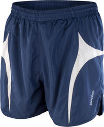 Spiro Micro Lite Running Shorts Result R183X - Navy/White