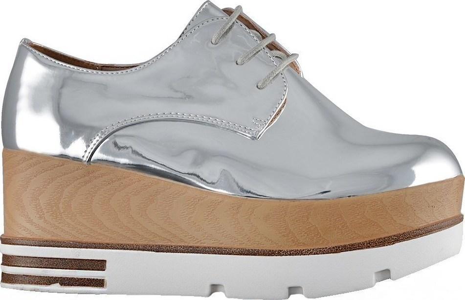 Famous Shoes YY6528 Silver - Skroutz.gr