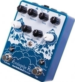 EarthQuaker Devices Avalanche Run Stereo Delay & Reverb EQDAVA